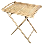 Bamboo Tray Table 27x20x31